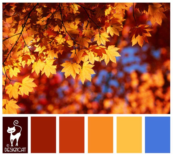 Autumn Leaves 2 - Brown, chocolate, auburn, Sand, gold ...