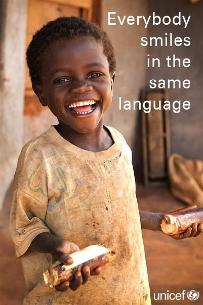 everybody smiles in the same language