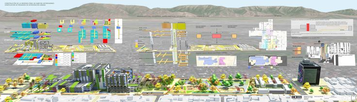 Fundamento + Zonificación, Plan maestro de reciclaje urbano.