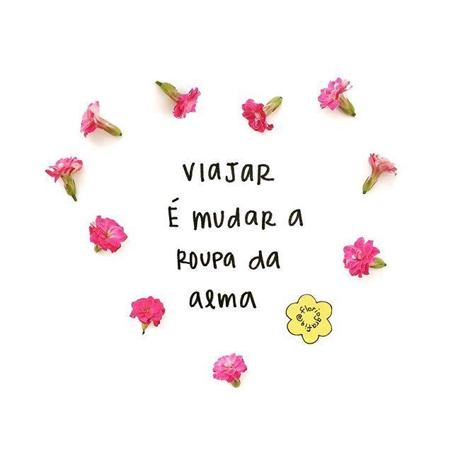 """""""Viajar é mudar a roupa da alma"""" - Mario Quintana ✈️ #marioquintana #ferias…"""
