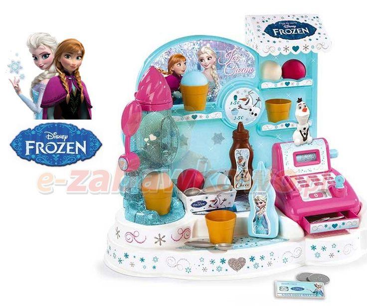 SMOBY LODZIARNIA FROZEN KRAINA LODU 350401 - SPRZEDAWCA - sklep z zabawkami e-zabawkowo.pl