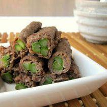 Asparagus Beef Roll (Aspara Nikumaki)