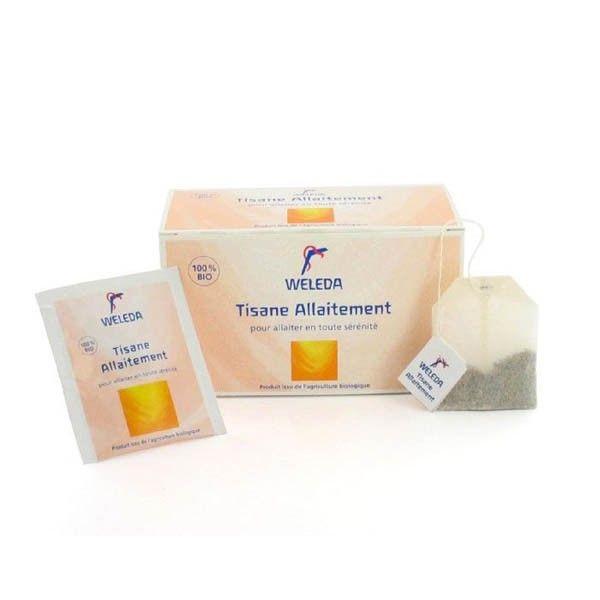 Weleda Tisanes Allaitement est un mélange de plantes pour tisane, infusette, favorise la lactation. http://www.pharmacie-sante.com/weleda-tisane-allaitement-20-sachets.html