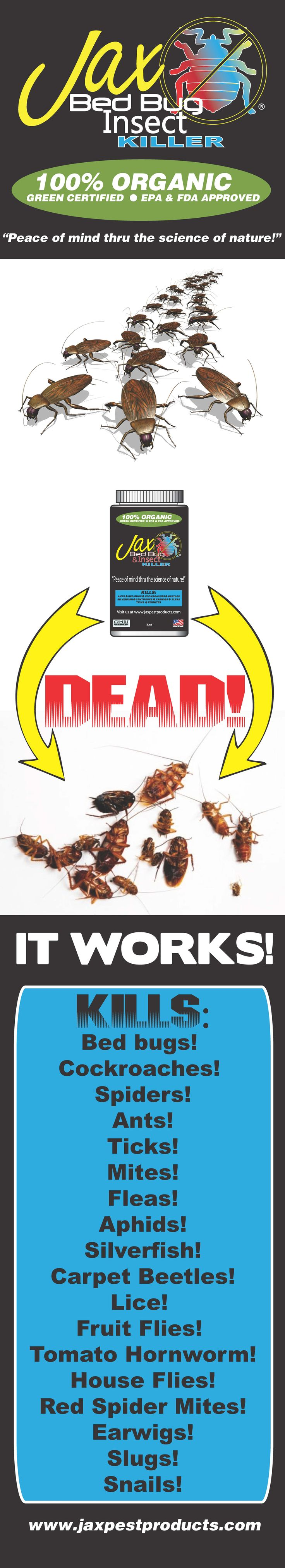 Pin on Jax Bed Bug & Insect Killer