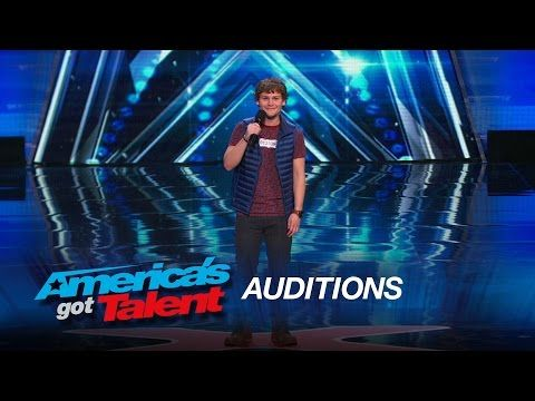 This stuttering comedian had good jokes but his overall audition was more emotional than anyone expected | Rare