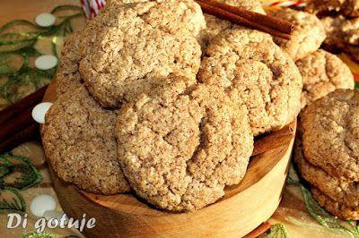 Di gotuje: Cynamonowe ciasteczka z kleiku ryżowego z białą cz...