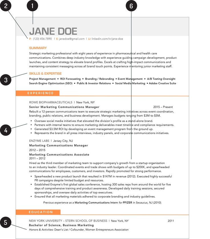 The Best Ideas for Resume Styles 2019 Resume skills