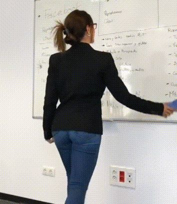 Why couldn't I have had a teacher like her in school!