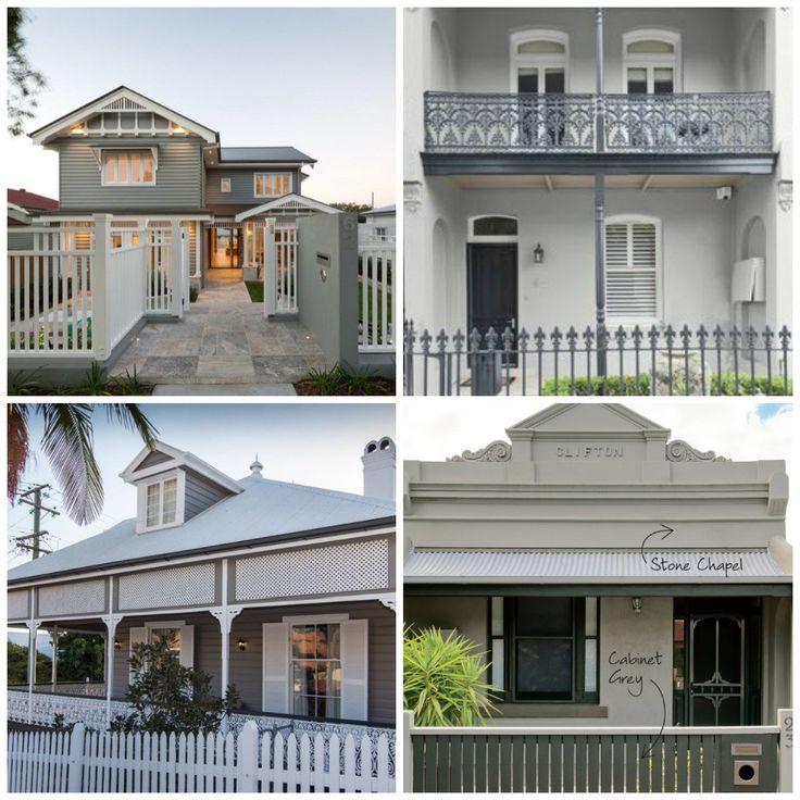 Grey House Paint colours