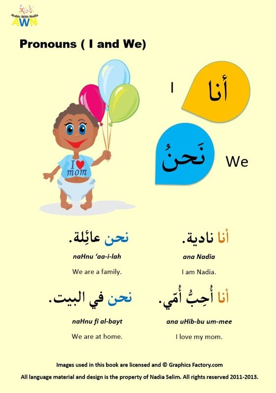 how to speak arabic language in english