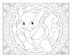 Wartortle Pokemon #008