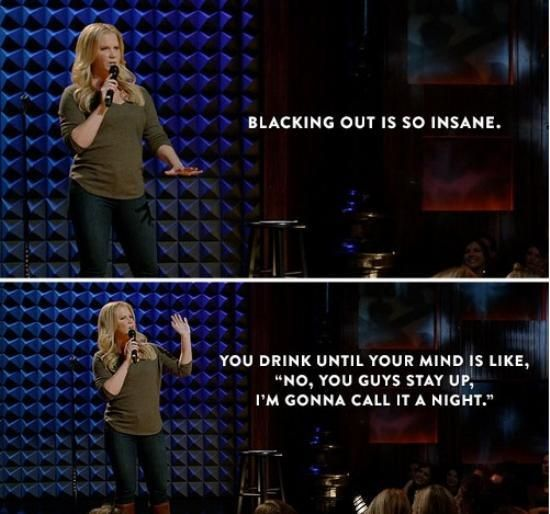 Amy Schumer is hilariously relatable