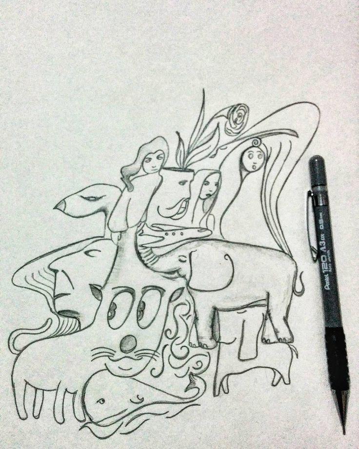 Çekti burnuna baharın taze kokusunu. Sevdiği her şey bir bir gözünün önünden geçti. Anneler olmasa bu güzellikleri nasıl görebilirdik diye düşündü. Ve sarıldı doyasıya annesine...�� #draw #drawing #tattoo #turkishfollowers #dövme #sketchbookx #drawings #sketch #drawn #disegno #beautiful #desenho #sketchbook #like #artlovers #illusration #galleryart #ig_artistry #sketch_daily #igers #illustrator #artistic_share #art_we_inspire #artwork #creative #instaart #artist #art #artstagram…