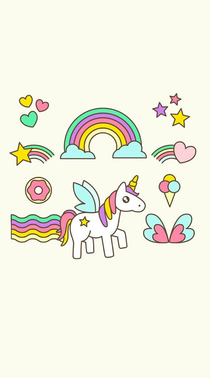 Mais de 1000 ideias sobre imagens de unicornios no for Papel para paredes baratos