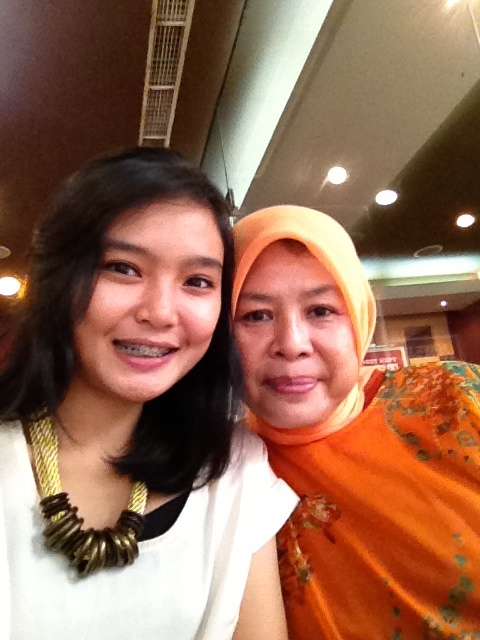 Like mother like daughter :*