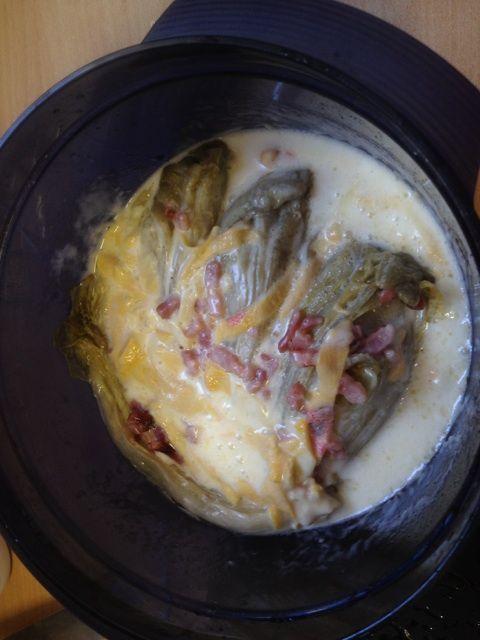 Endives à la bière et au maroilles au Microcook - Ma cuisine Tupperware ! …