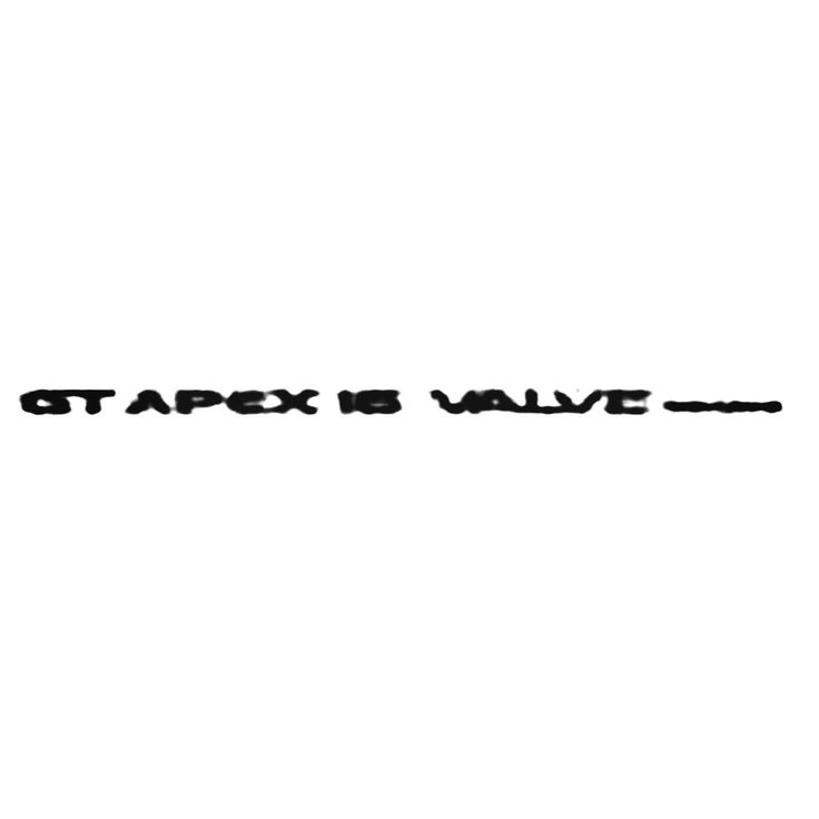 Gt Apex 16 Valve Twin Cam Decal Sticker  BallzBeatz . com