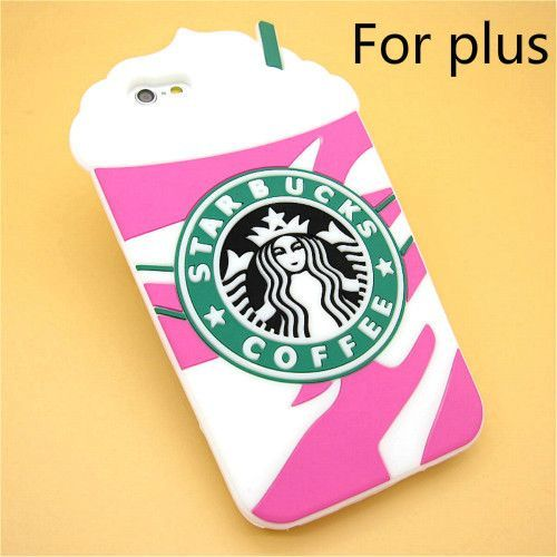 Frappuccino 3D Starbuck Coffee Soft Case Cover Apple iPhone 6 6s 4.7'' Silicone Phone Case Shell