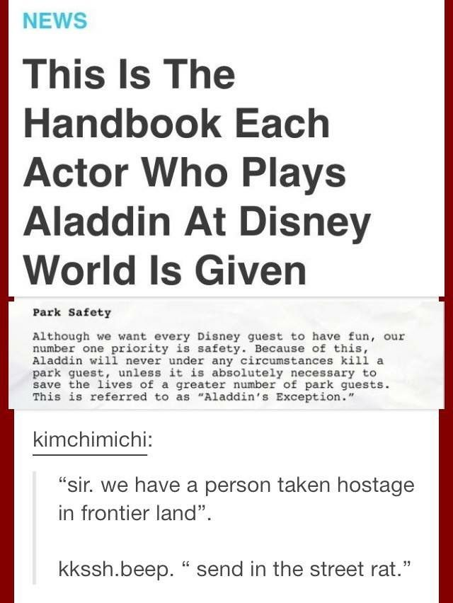 If this is true this is just another reason why Disney World is the greatest.