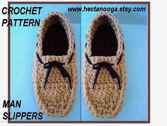 Perfect Crochet House Slippers Pattern Image Collection - Easy Scarf ...