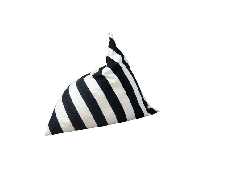 Monochrome Stripe Bean Bag by Wildfire