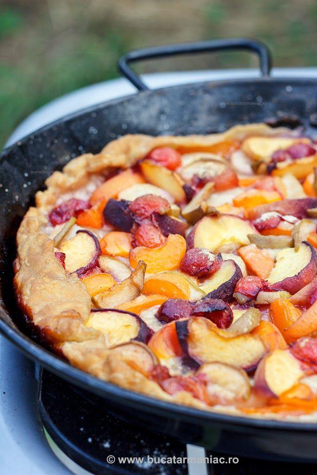 bucatar maniac: Tarta cu fructe de vara