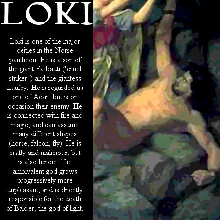 Norse God Loki | Loki profile - Norse Mythology Loki Photo (30846850) - Fanpop fanclubs