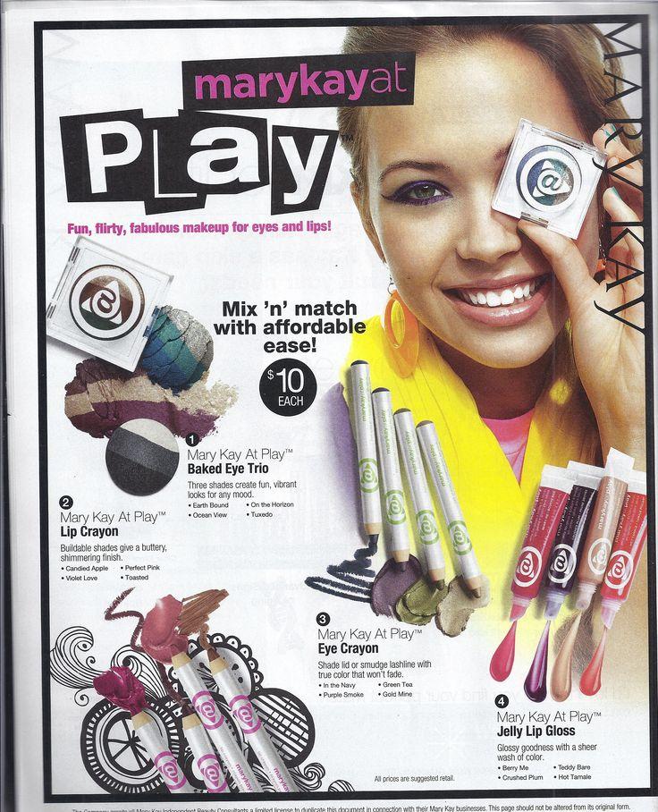 Mary Kay At Play Products