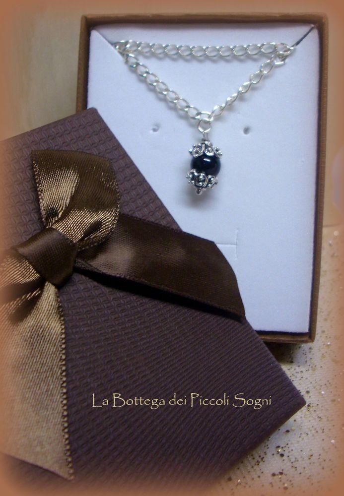 Coccu Sabegia Collana Filigrana Sarda Argento 925 Artigianato Sardo |Jewelry
