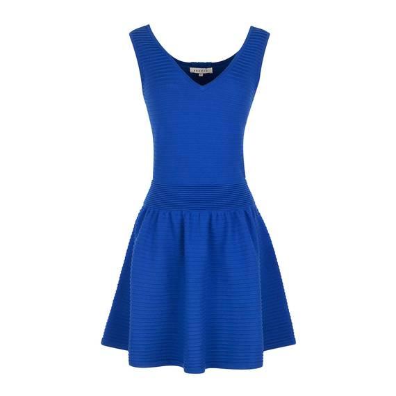 Robe Raffoler Bleu roi - Robes Sandro - E-Boutique Officielle SANDRO / Collection Automne-Hiver 2012 SANDRO