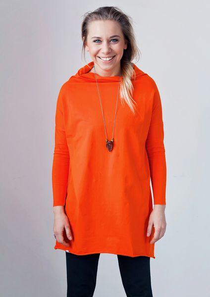 Pomarańczowa Tunika Sukienka damska MoreLove ASANA w MoreLove  na DaWanda.com
