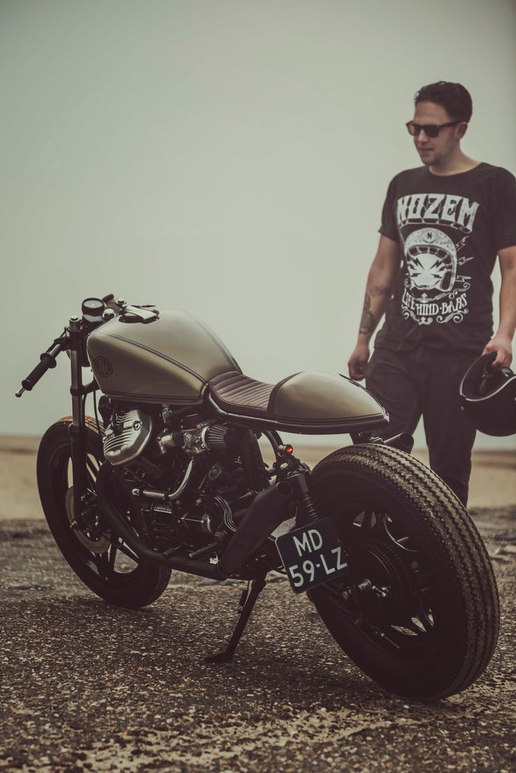 Honda CX500 Cafe Racer by Nozem Amsterdam Photos by GS Automotive Art
