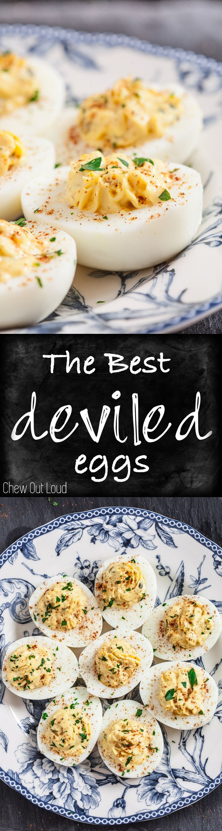 How to Make The Best Deviled Eggs. From fail-proof boiling to easy peeling to perfect seasoning. #appetizer #recipes