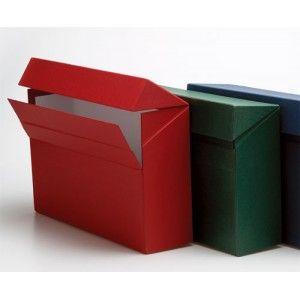 Caja de Transferencia Folio color granate