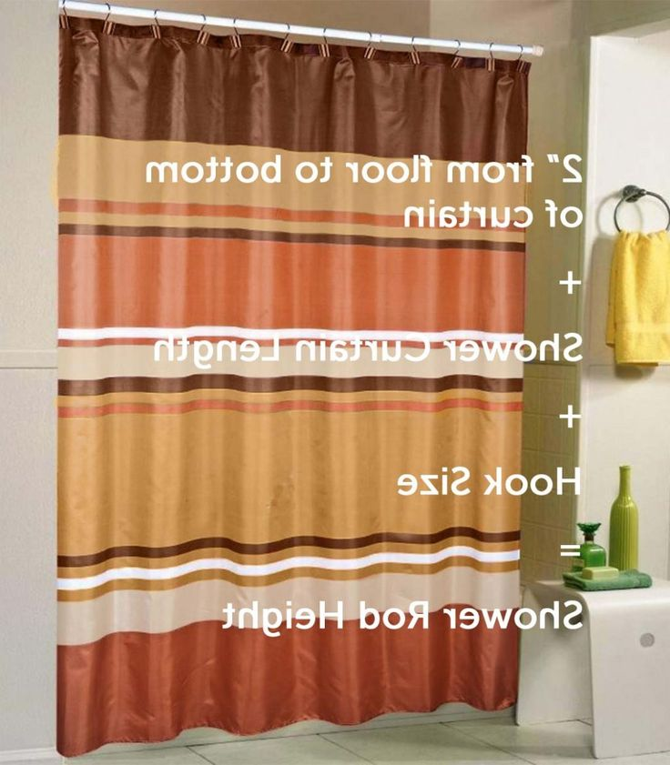 11 Suggestions What Is The Standard Shower Curtain Size Should Be