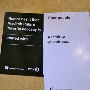 :-) | 18 Cards Against Humanity Combos That Will Make You Think Twice