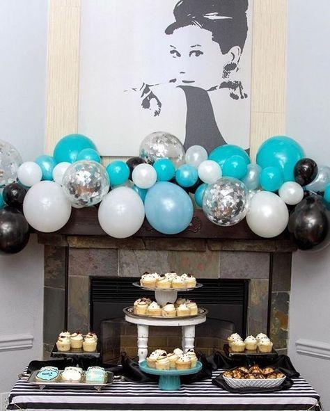 Ways To Style A Balloon Garland Graduation Bridal Shower