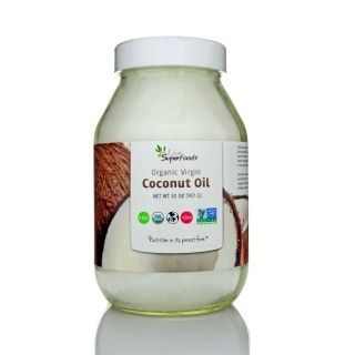 Live Superfoods Raw Virgin Coconut Oil, 32 oz
