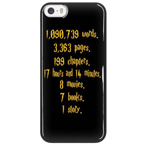 Phone Cases - Limited Edition - Harry Potter Collection Quote Iphone 5/6/6 Plus Cover