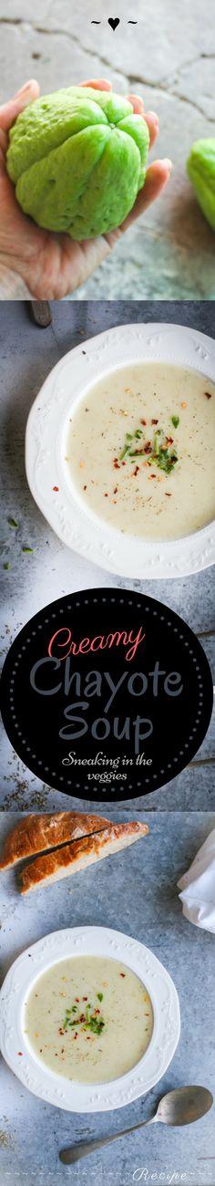 Creamy Chayote Soup Recipe