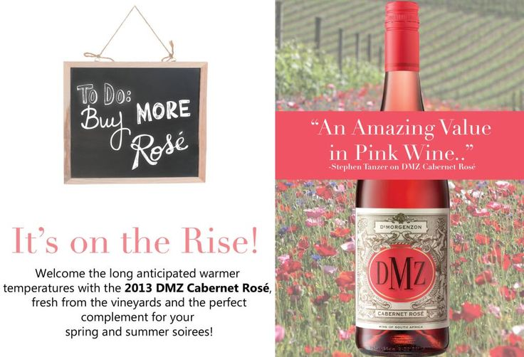 To Do: Drink More Rosé, It's on the Rise #winefact @DMZwine pic.twitter.com/4NZRY6AbE4