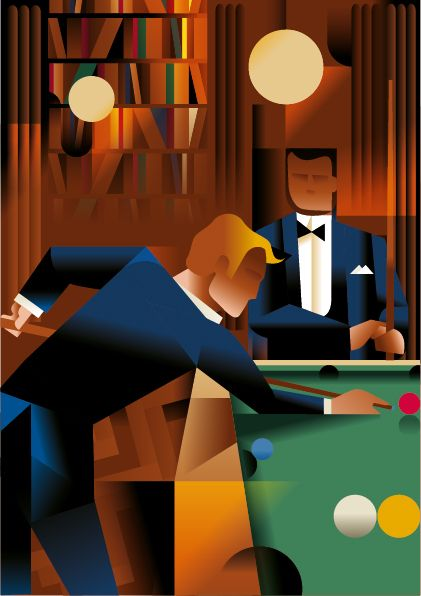 Art Deco Inspired Illustrations By Mads Berg                                                                                                                                                                                 More