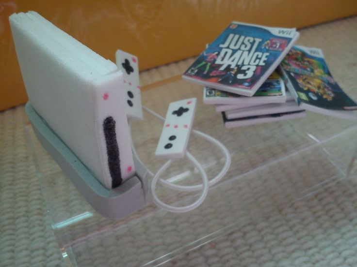 How To Make a Doll Wii Game System.