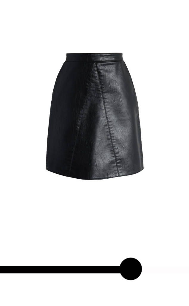 Taurus from April 2017 Horoscopes  Chicwish Fetching Faux Leather Skirt in Black, $45
