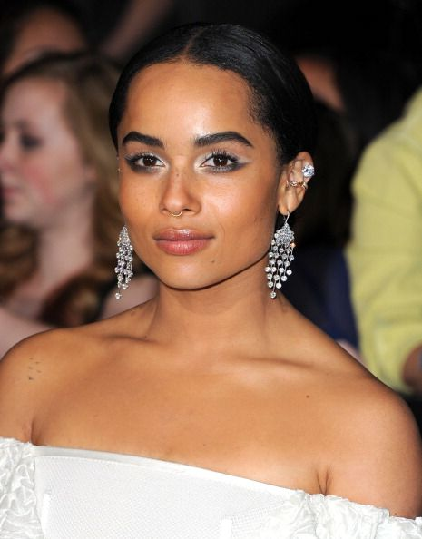 Zoe Kravitz at the premiere of 'Divergent.' Hair by Ian James.