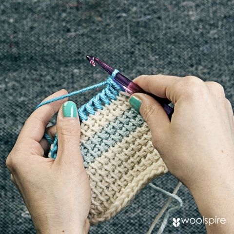 how to make tunisian crochet