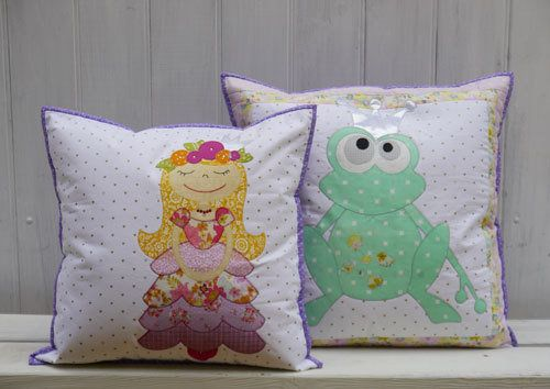 """""""Frog Prince"""" designed by Claire Turpin for Claire Turpin Designs."""