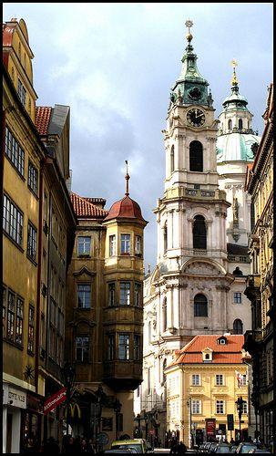 Church of St Nicholas Prague by Peter