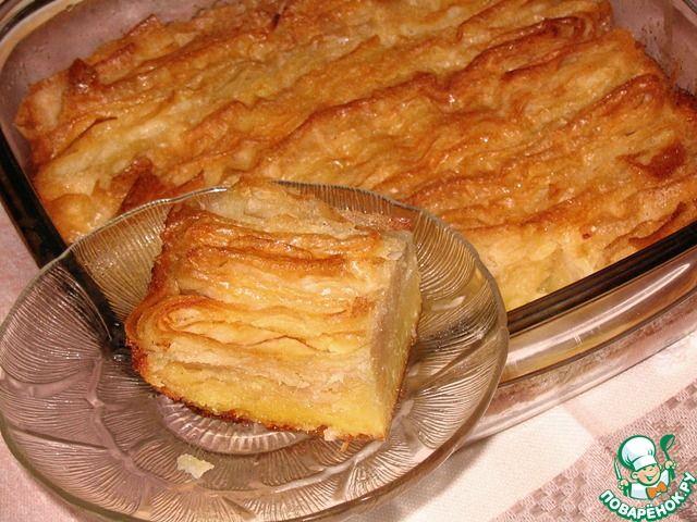 Тряпочный пирог - кулинарный рецепт