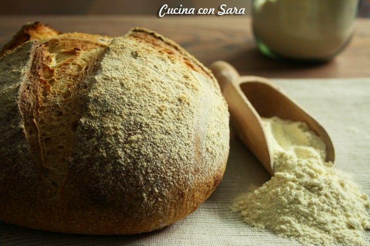 Pane di altamura con lievito madre, cucina con sara
